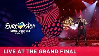 Joci Pápai - Origo (Hungary) LIVE at the Grand Final of the 2017 Eurovision Song Contest