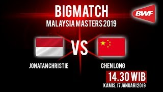 Link Live Streaming Malaysia Masters 2019, Bigmatch: Chen Long Vs Jonatan Christie Siang Ini