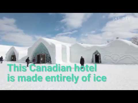 Would You Sleep in a Hotel Made Entirely Out of Ice?