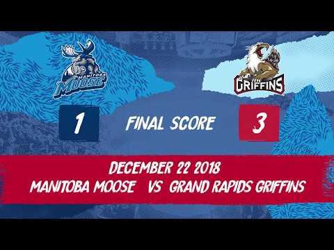 Griffins vs. Moose | Dec. 22, 2018