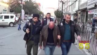 SAMSUN'DA 4 IRAKLI'YA DEAŞ GÖZALTISI