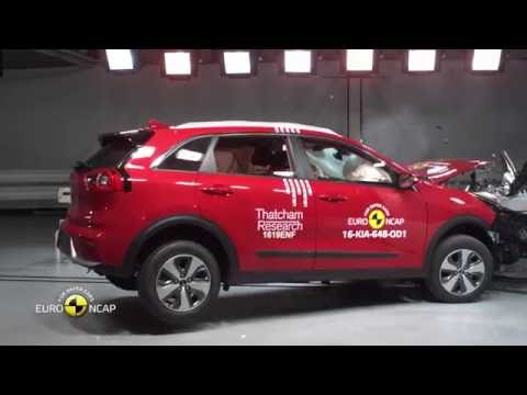 Euro NCAP Crash Test of Kia Niro 2016