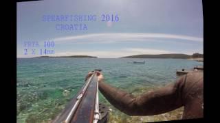 Podvodni ribolov-Spearfishing Croatia- 2016