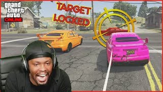 I'M NOT STOPPING! Going For The BIGGEST Crash! (GTA 5 Funny Moments)