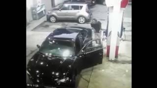 Atlanta Gas Station Shooting With Music