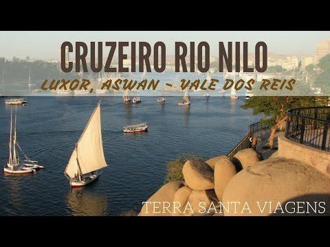 Cruzeiro pelo rio Nilo, Luxor e Aswan