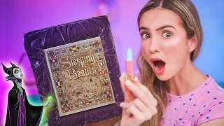 CRAZIEST DISNEY MAKEUP IVE EVER TESTED! Besame Cosmetics Sleeping Beauty Review