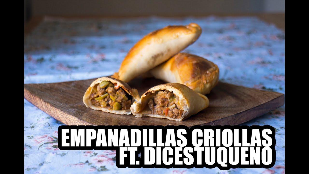 COMO HACER EMPANADILLAS CRIOLLAS ft DICESTUQUENO, GRABADAS CON UNA GO PRO
