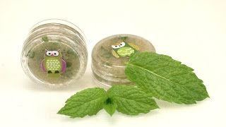 DIY Sweet Mint Lippenpeeling | Lippenpflege mit frischer Pfefferminze & Zucker | sehr pflegend