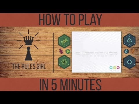 Emergence - How to Play in 5 Minutes - The Rules Girl