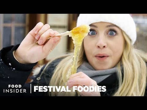 This Winter Carnival Offers The Most Delicious Food Items!