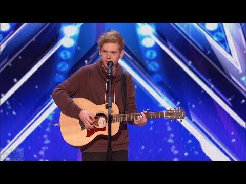, title : 'America's Got Talent 2017 Chase Goehring Singer Songwriter Is Next Ed Sheeran Full Audition S12E02