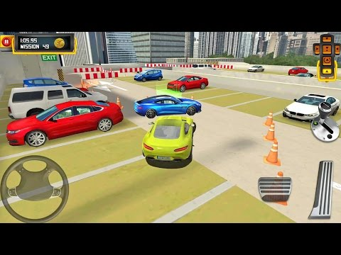 Multi Level 4 Parking #8 MUSCLE CAR - Android IOS gameplay