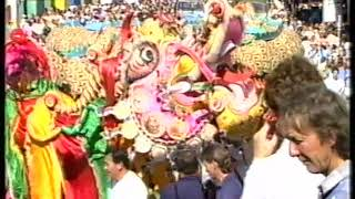Bendigo Easter Fair Procession – 1988