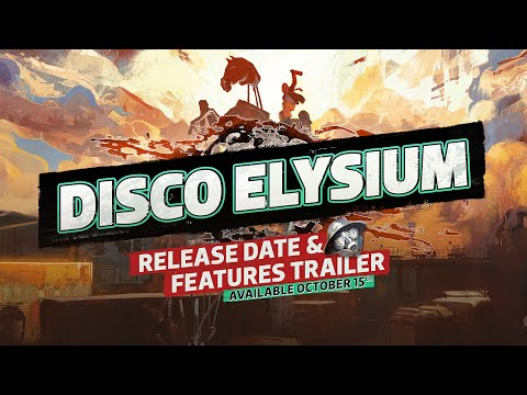 DISCO ELYSIUM - Release Date & Features Trailer (Official) thumbnail