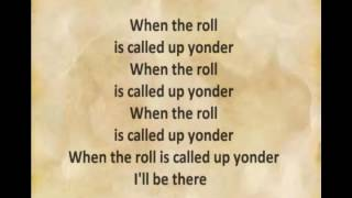 When the Roll is Called Up Yonder with Lyrics by Alan Jackson