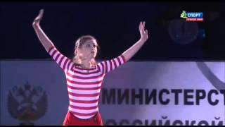 Юлия Липницкая. Чемпионат России 2016. Показательное выступление. 27.12.2015