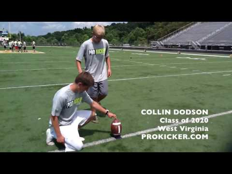 Collin Dodson, Kicker, Class of 2020