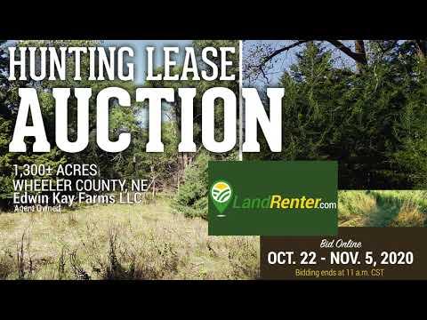 1,300+/- Acres Wheeler County, NE