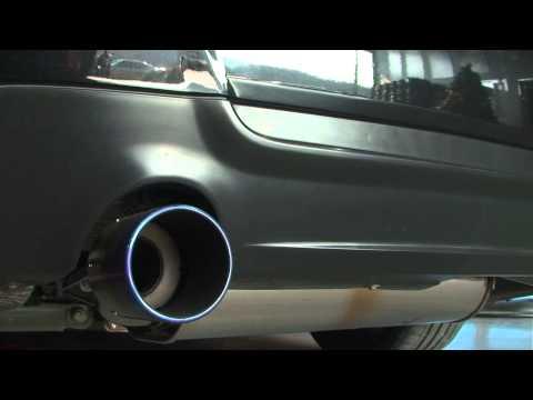 BMW E92 335i 安裝 巨石 排氣管 中尾段