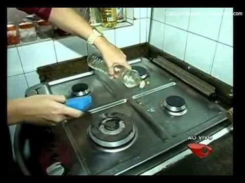 Retirar Gordura na Cozinha