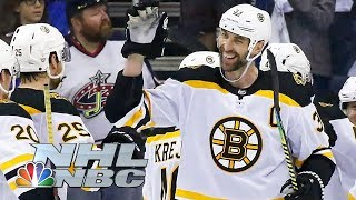 NHL Stanley Cup Playoffs 2019: Bruins vs. Blue Jackets | Game 6 Highlights | NBC Sports