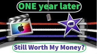 Final Cut Pro X vs iMovie Part 2 One year Later Is It Still Worth My Money