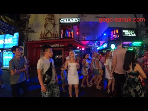 Traveling Alone In Pattaya 2018 Night Scene E3 80 904k Video E3 80 91 Gogo Sanuk