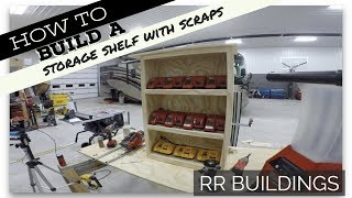 How To Build A Storage Shelf / Charging Station