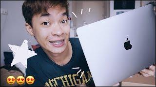 แกะกล่องMacBookProเด้อ!!!