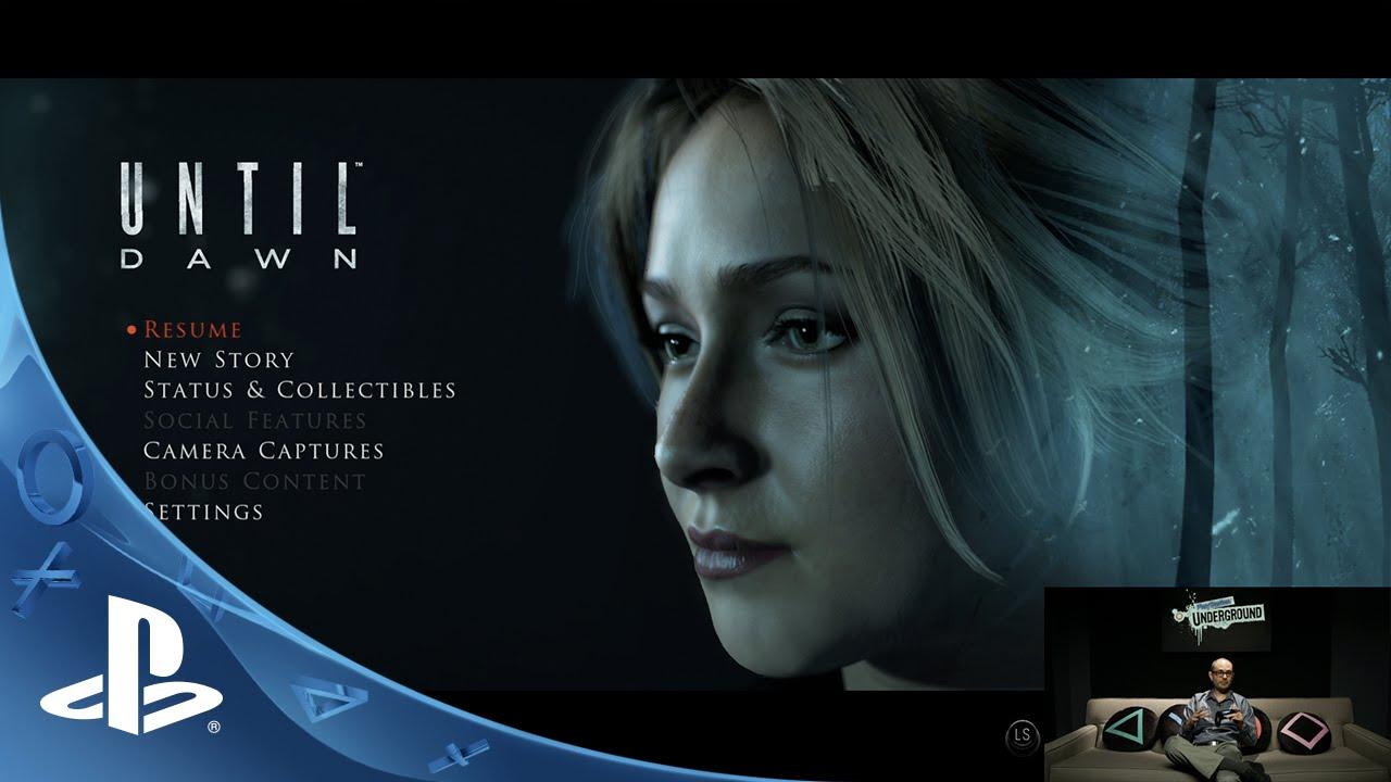 PlayStation Underground: Until Dawn