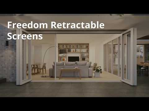 Freedom Retractable Screens