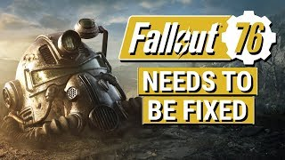 FALLOUT 76 MUST BE FIXED!! (Performance, Stability, and Bugs Rant From a Fallout Fan)