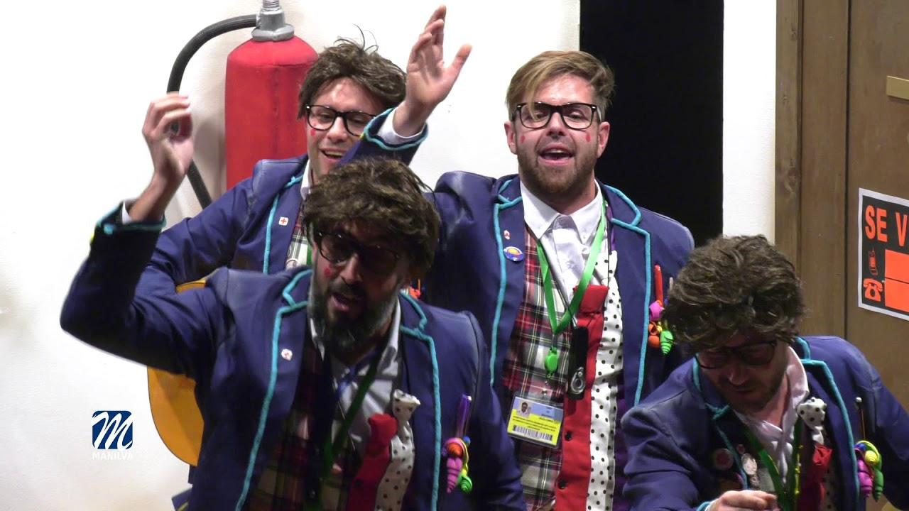 Finalistas del concurso de agrupaciones de carnaval