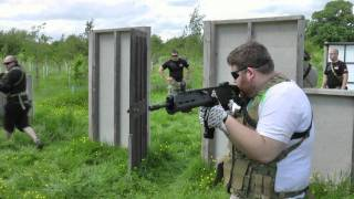 preview picture of video 'Airsoft CQB Training @ AAF3'