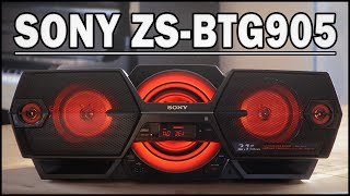 SONY ZS-BTG905 Bluetooth-Boombox - REVIEW (Deutsch) | ENGLISH SUBTITLES