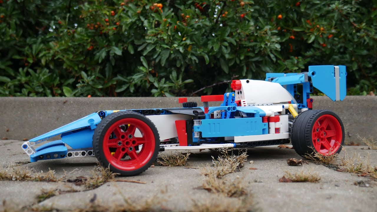 INSTRUCTIONS for Lego Technic 42077 C-model Formule [MOC]
