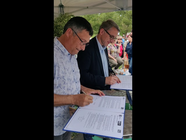 Printemps du Bourgailh 2019 - Signature de la convention avec LPO Aquitaine