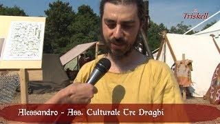 Campo storico, i Celti e le armi, intervista ad Alessandro dell'Ass.cult.Tre Draghi
