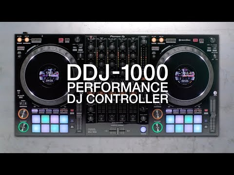 Pioneer DJ DDJ-1000 4-deck rekordbox DJ Controller   Sweetwater