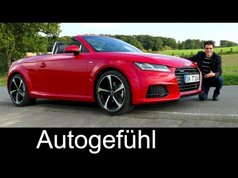 2016 Audi TT Roadster 2.0 TFSI 230 hp FULL REVIEW test driven convertible cabriolet - Autogefühl