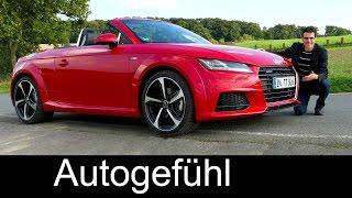 2016 Audi TT Roadster 2.0 TFSI 230 hp FULL REVIEW test driven convertible cabriolet - Autogefühl
