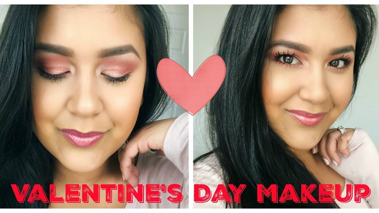 Easy & Soft Valentine's Day Makeup