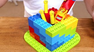 3 Easy and Simple LEGO DUPLO Build Constructions! Tablet Stand, Sticky Notes Station, Stationary Pot