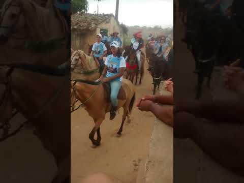 Cavalgada em ARARUNA PB