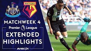 Newcastle United v. Watford | PREMIER LEAGUE HIGHLIGHTS | 8/31/19 | NBC Sports
