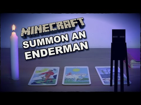 Summon An Enderman Ritual - Spawn Minecraft Mob