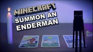 Summon An Enderman Ritual - Spawn Minecraft Mob