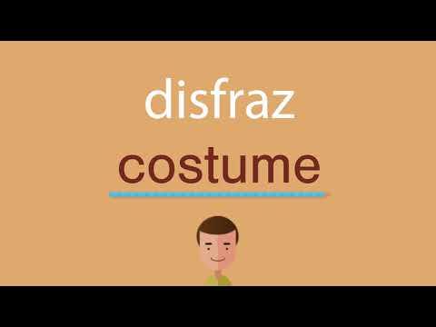 Cómo se dice disfraz en inglés