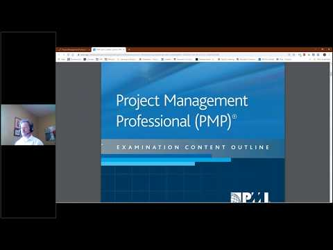 PMP Exam Content Outline - YouTube